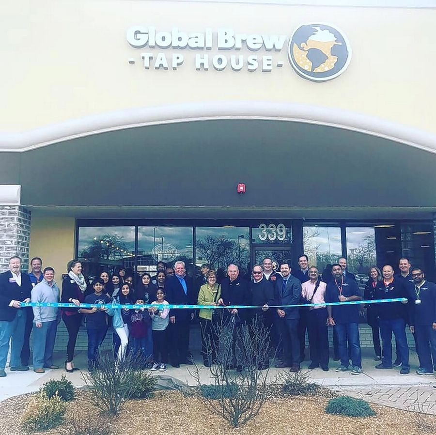 The Schaumburg Business Association recently held a ribbon cutting for Global Brew Tap House, 339 W. Golf Road, Schaumburg.