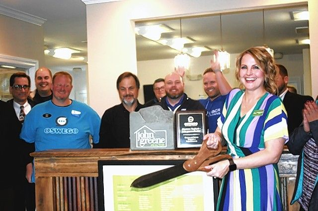 The Oswego Area Chamber of Commerce recently attended a ribbon-cutting ceremony for Shannon Nuzbach, who is with John Greene Realtor in Oswego.