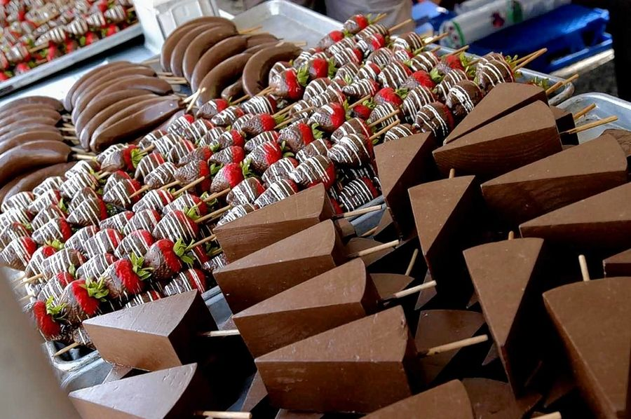 Chocolate Fest returns to historic downtown Long Grove May 17-19 featuring sweet treats, vendors, performers and more.