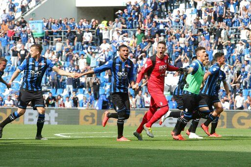 Atalanta has Italian Cup and Champions League to play for