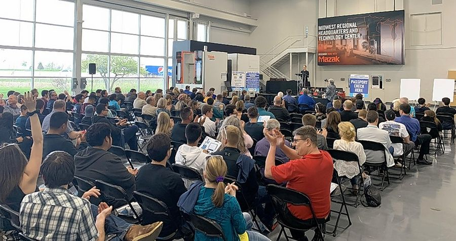 Nearly 300 students from 22 northern Illinois high schools recently competed in the Technology & Manufacturing Association's 28th annual Precision Machining Competition.