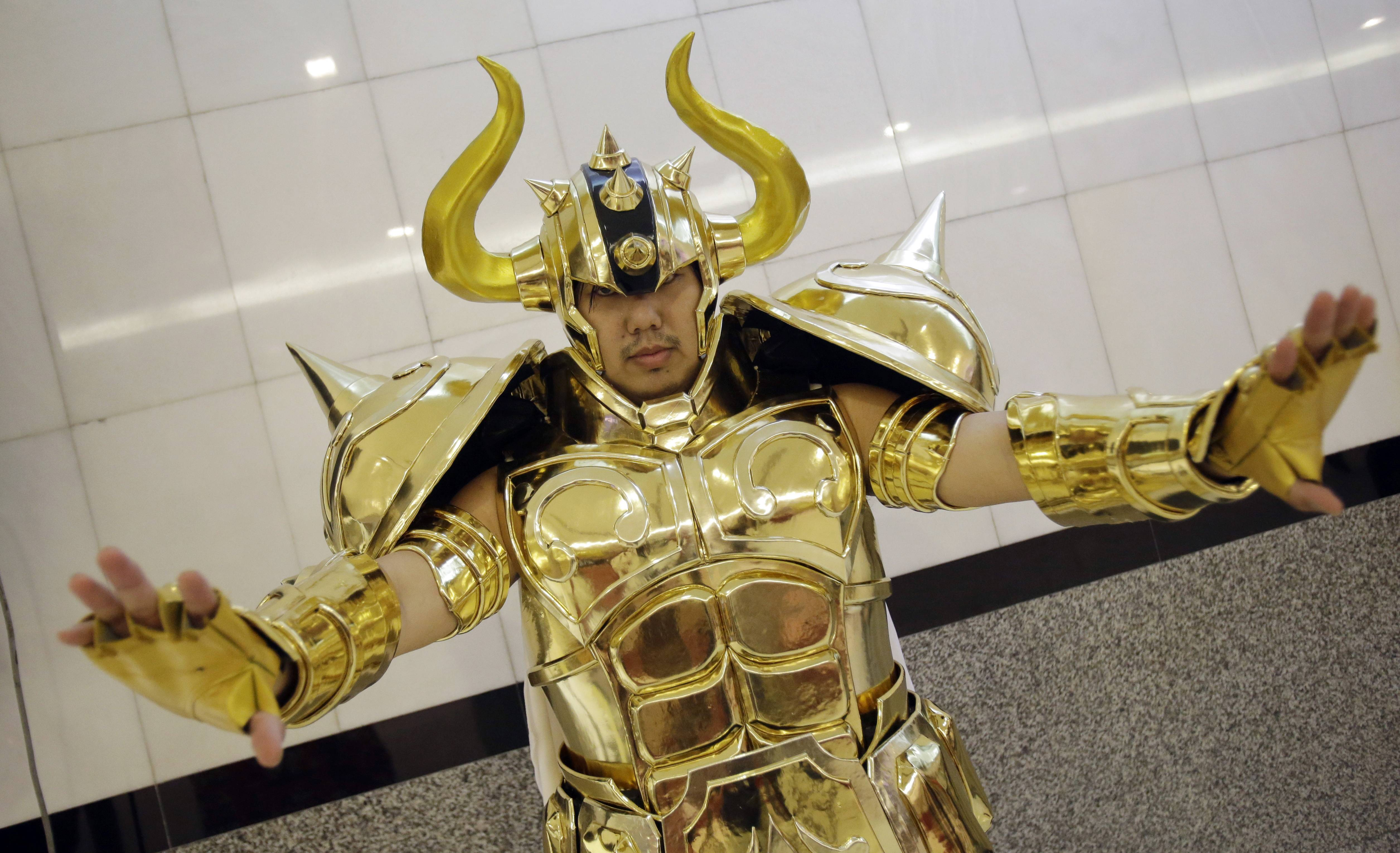 Marvel at the many cosplay outfits at Anime Central at the Donald E. Stephens Convention Center in Rosemont.