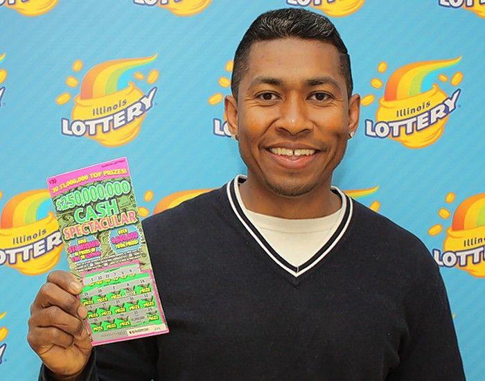 Woodridge man claims $1 million lottery scratch-off prize