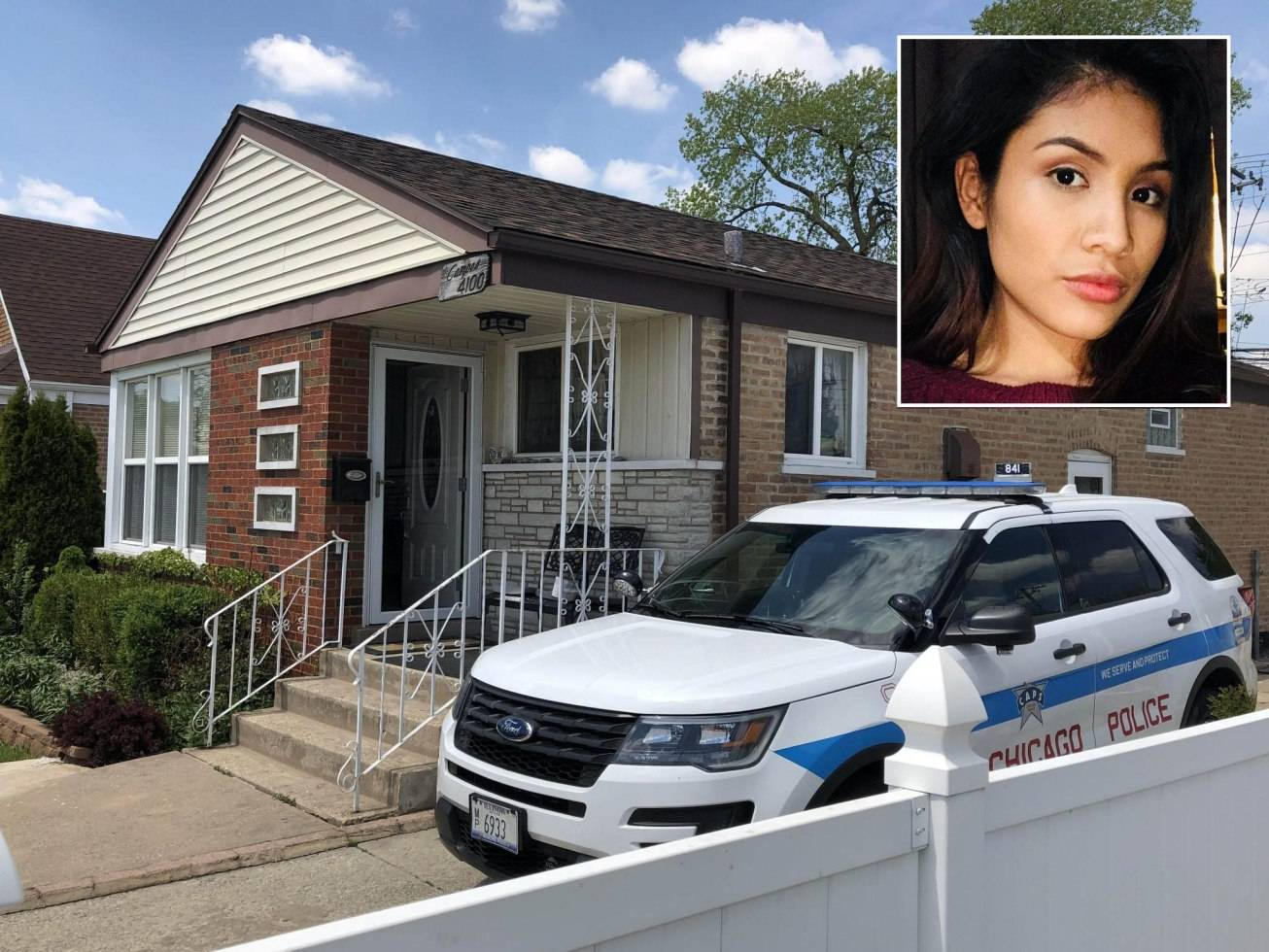 Photo courtesy of the Chicago Sun-TimesMarlen Ochoa-Lopez allegedly went to a home in the 4100 block of 77th Place the day she went missing, police sources said.
