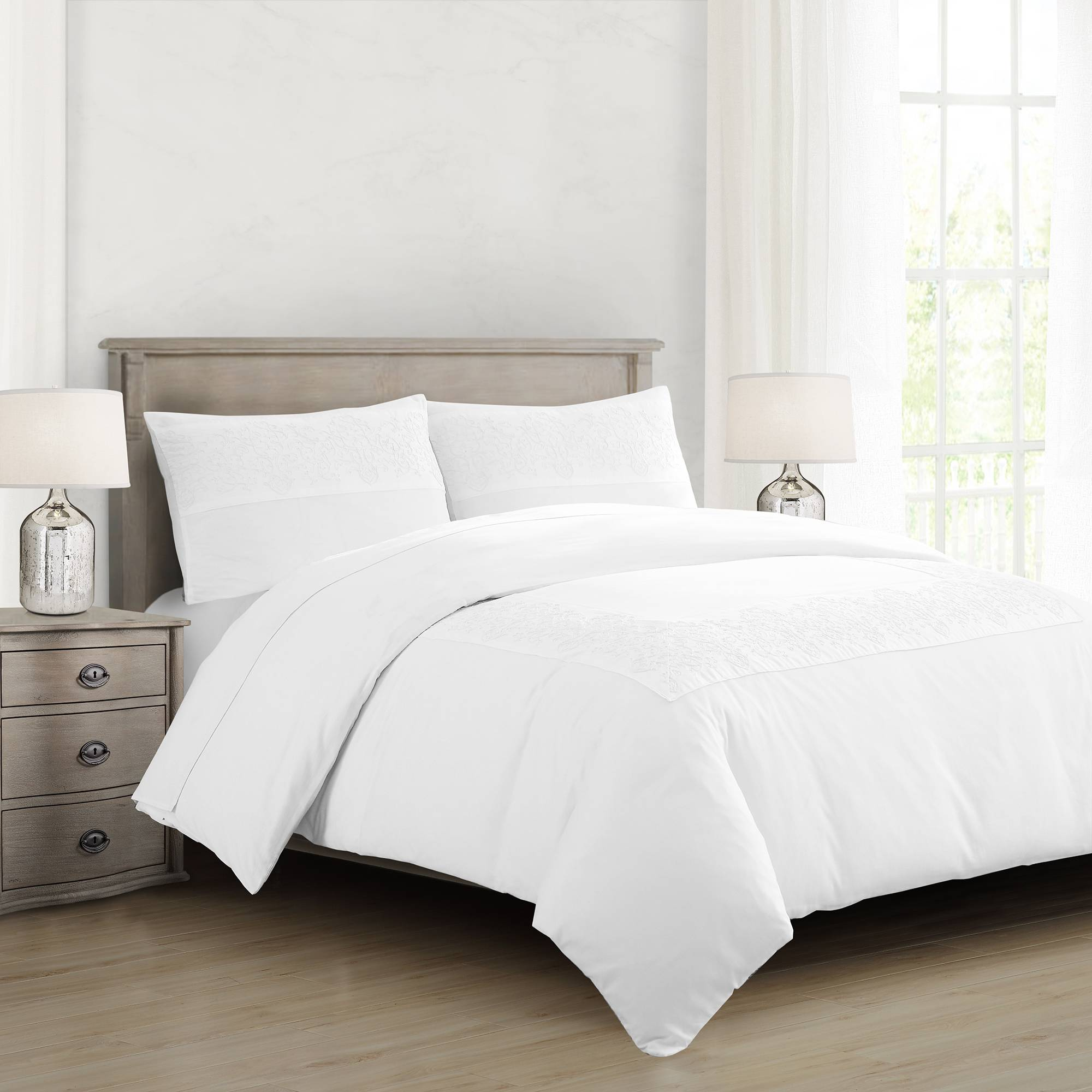 Investing in high-quality bedding can have a huge impact and freshen up a room. Bed Bath & Beyond has luxurious pieces at low price points, such as $100 for this comforter set.