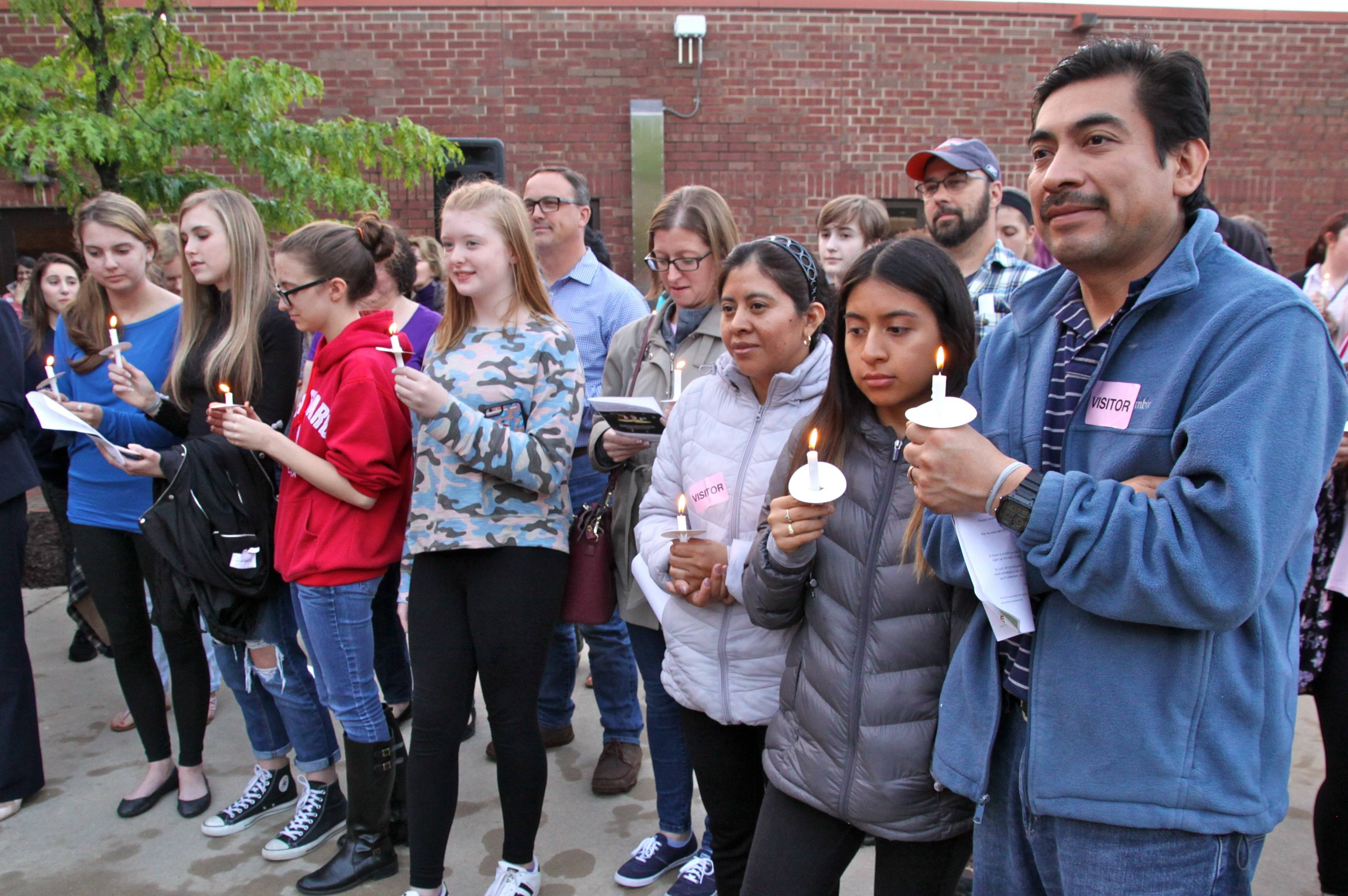 More than 300 people are expected to gather Monday at the Linden Oaks Candlelight Vigil in Naperville for those affected by eating disorders.