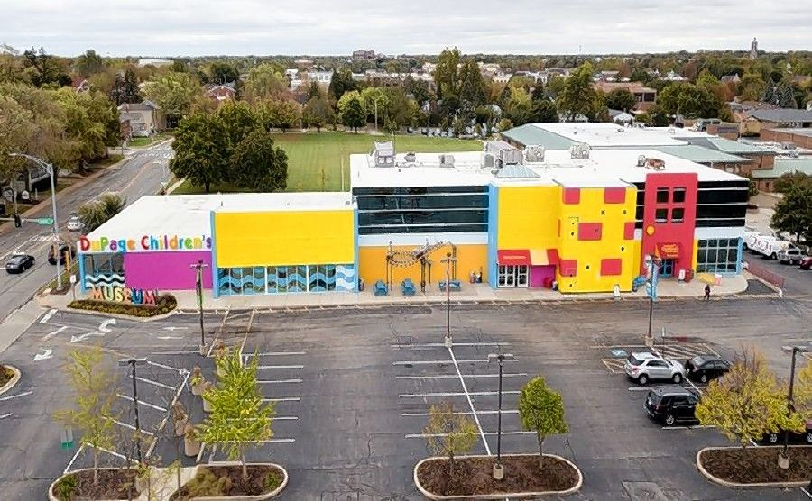 The DuPage Children's Museum will stay put at its Washington Street site in Naperville.