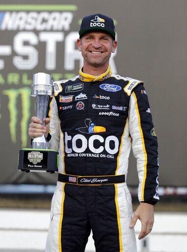 Nascar Pole Position >> Clint Bowyer Captures Pole For Nascar All Star Race