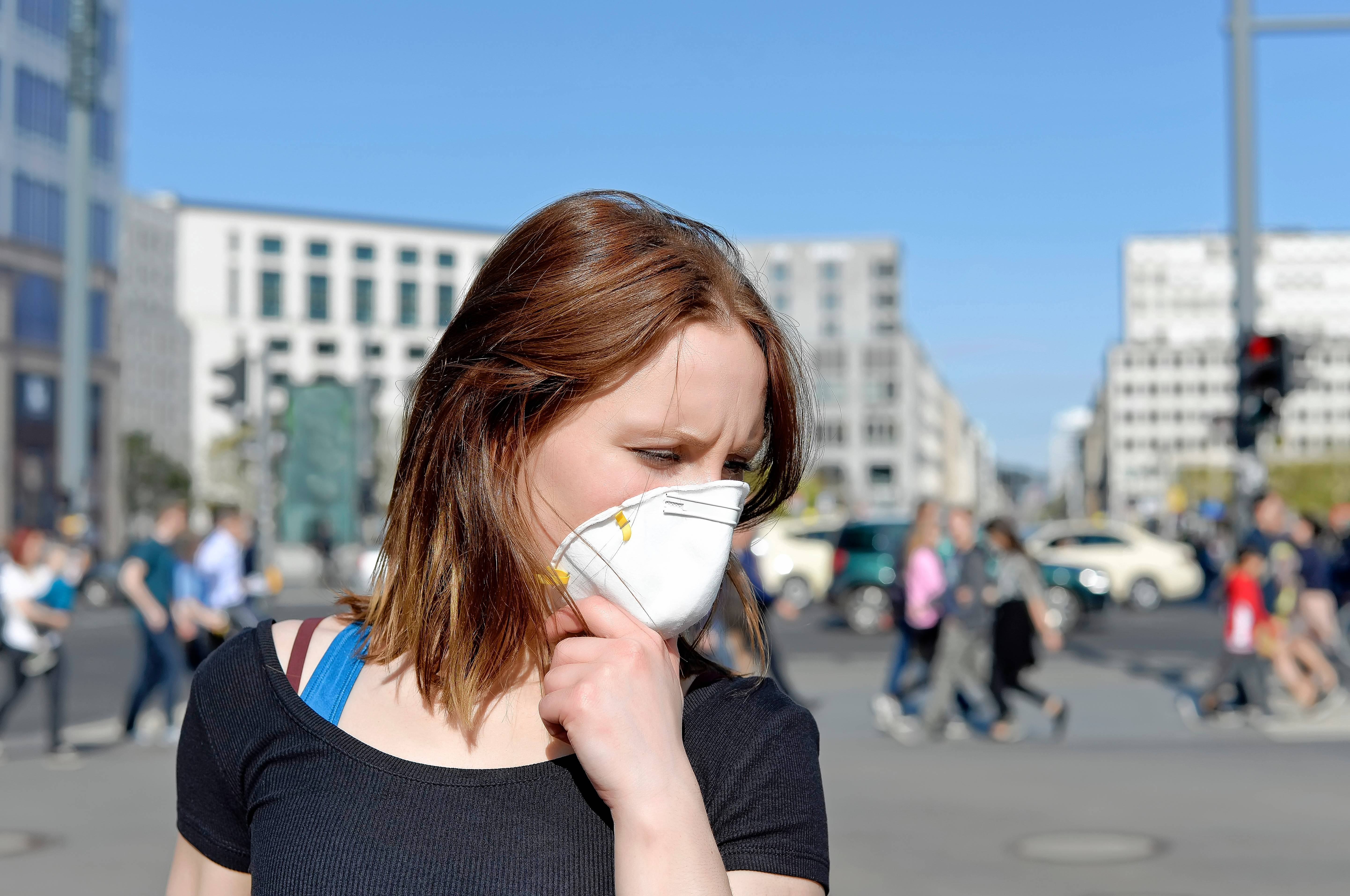Consider packing a respirator mask if you will be traveling to an area with poor air quality.