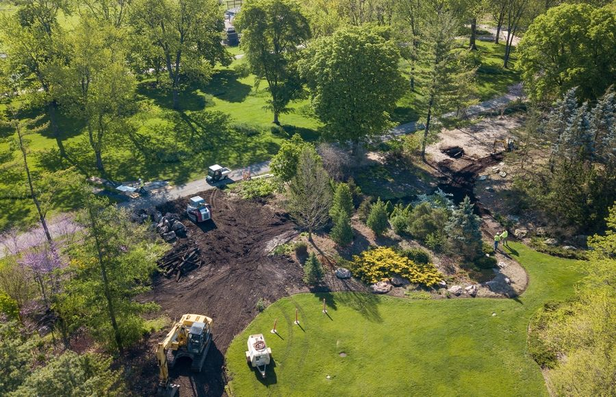 The second phase of Project New Leaf officially began last week at Cantigny Park in Wheaton.