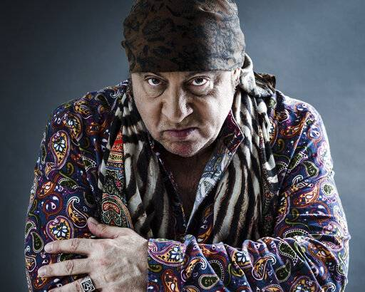 "Actor and musician Steven Van Zandt's new album, ""Summer of Sorcery,"" is a 12-track collection of original material."