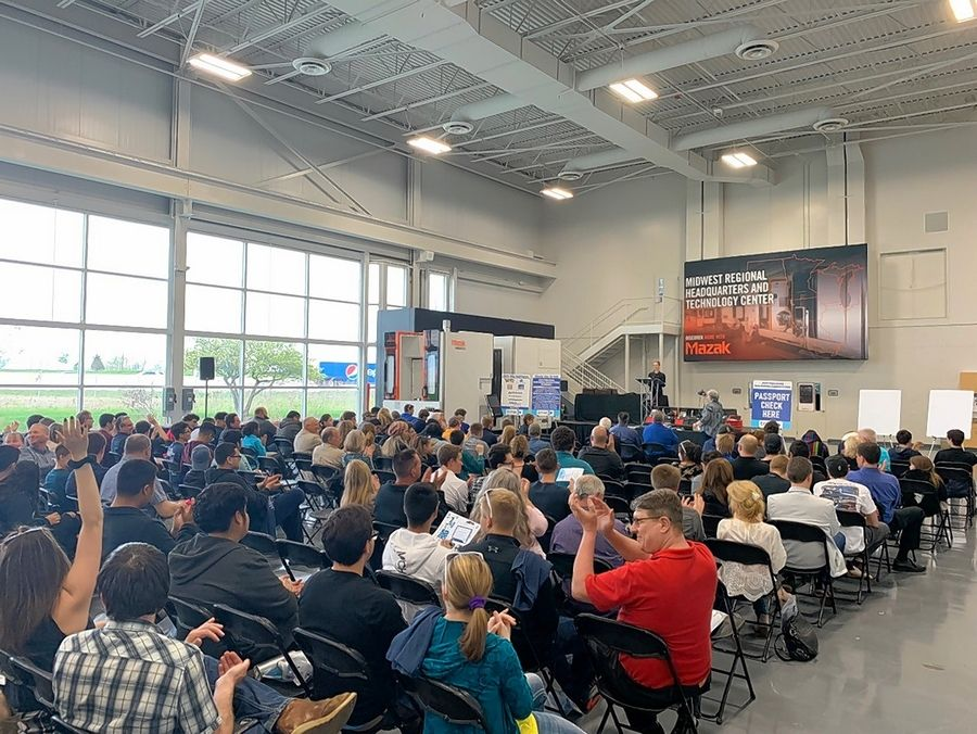 Three hundred students from 22 Northern Illinois high schools participated in the Technology & Manufacturing Association's 28th annual Precision Machining Competition.
