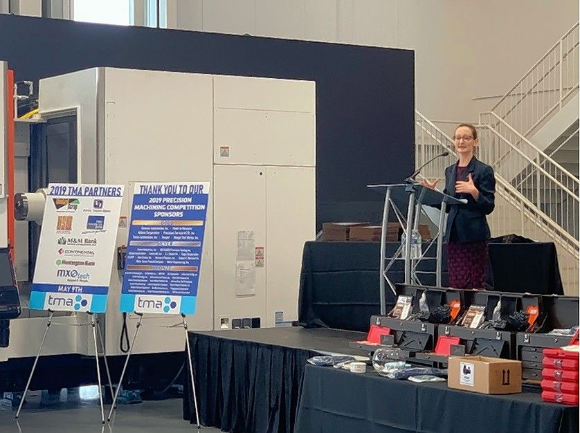 The Precision Machining Competition celebrated inventive students and highlighted the demand for technology and precision manufacturing skills in today's workforce.
