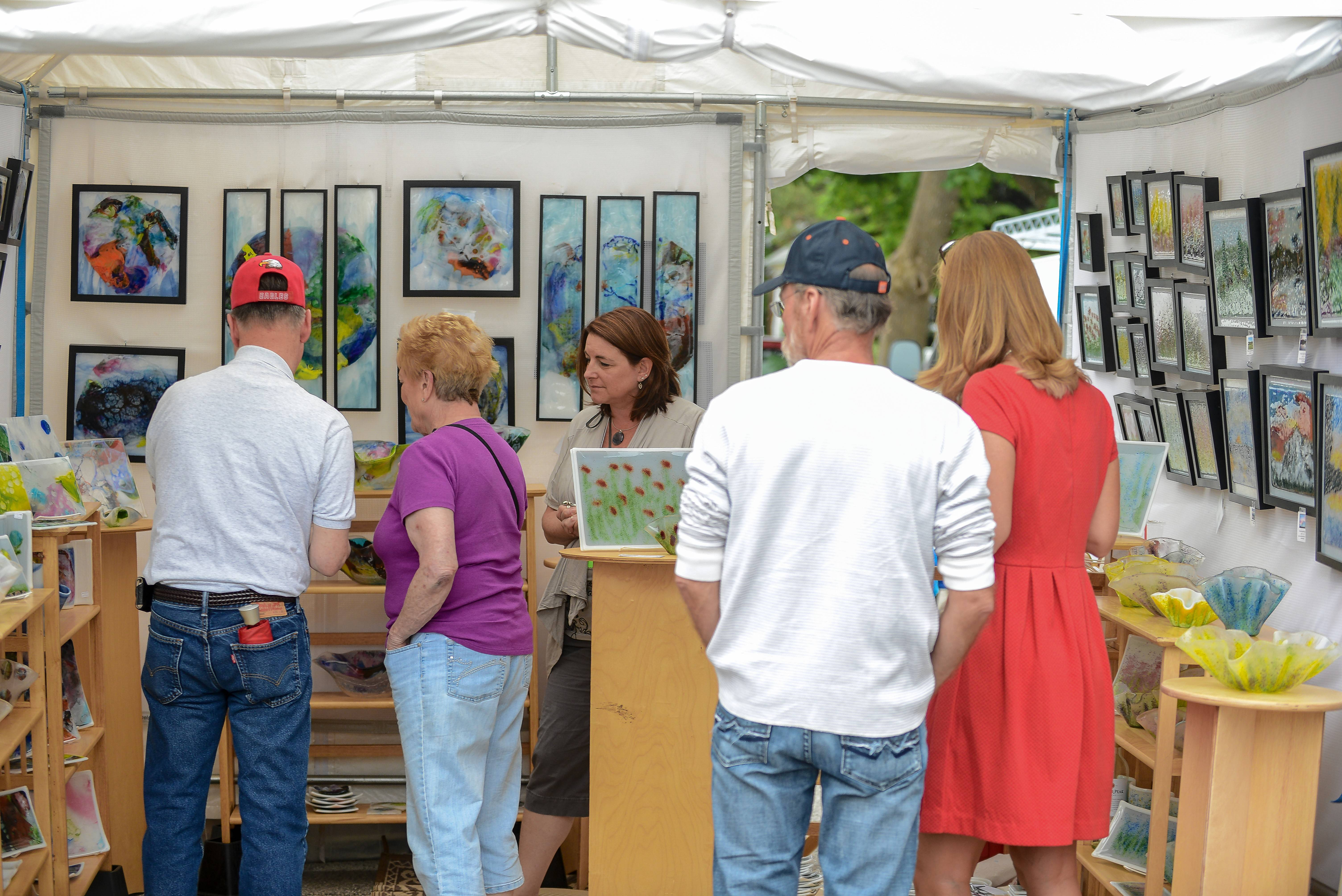 The Barrington Art Festival returns for its 10th year to the village's downtown over Memorial Day weekend.