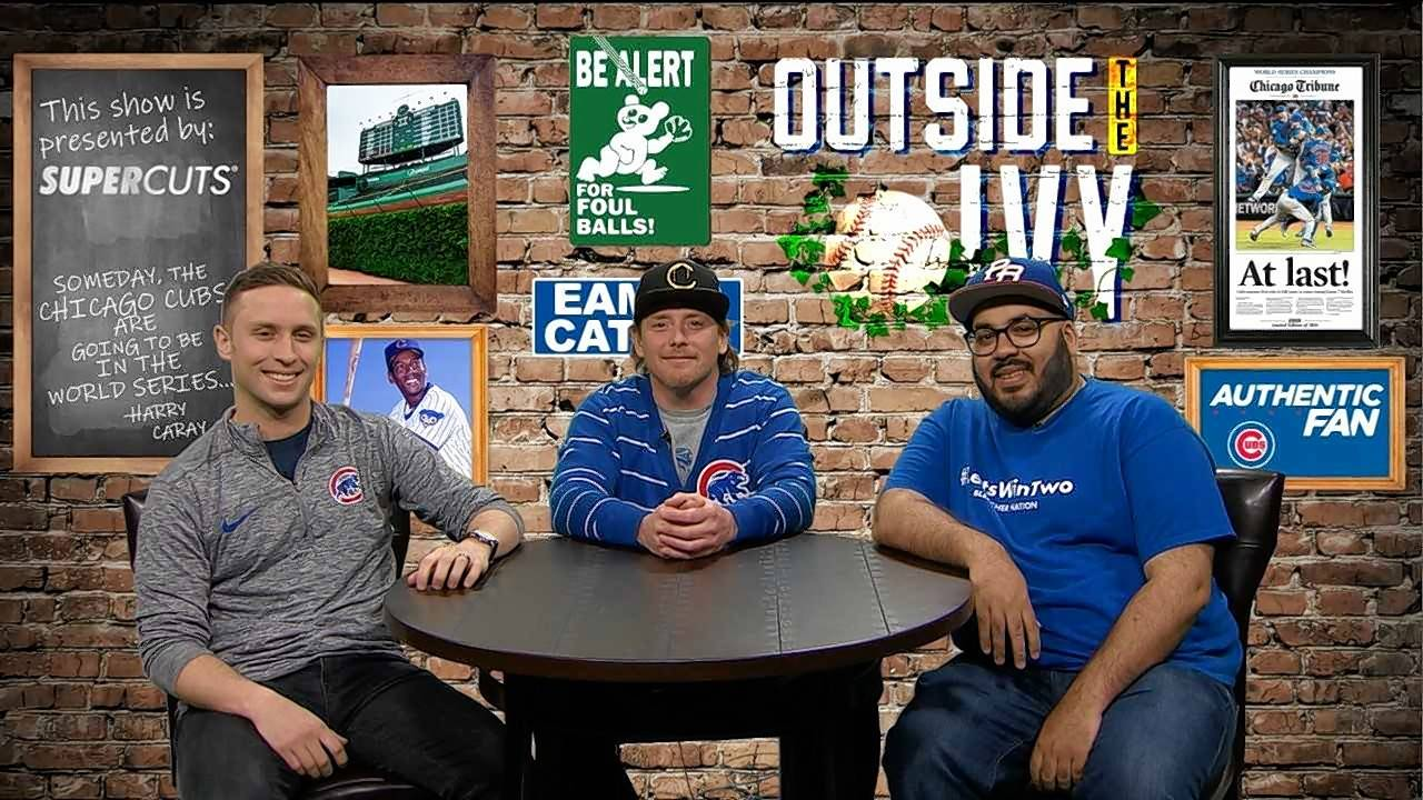 "Michael Cerami, Danny Rockett and Luis Medina will host ""Outside the Ivy,"" a new Cubs postgame show for NBC Sports Chicago."
