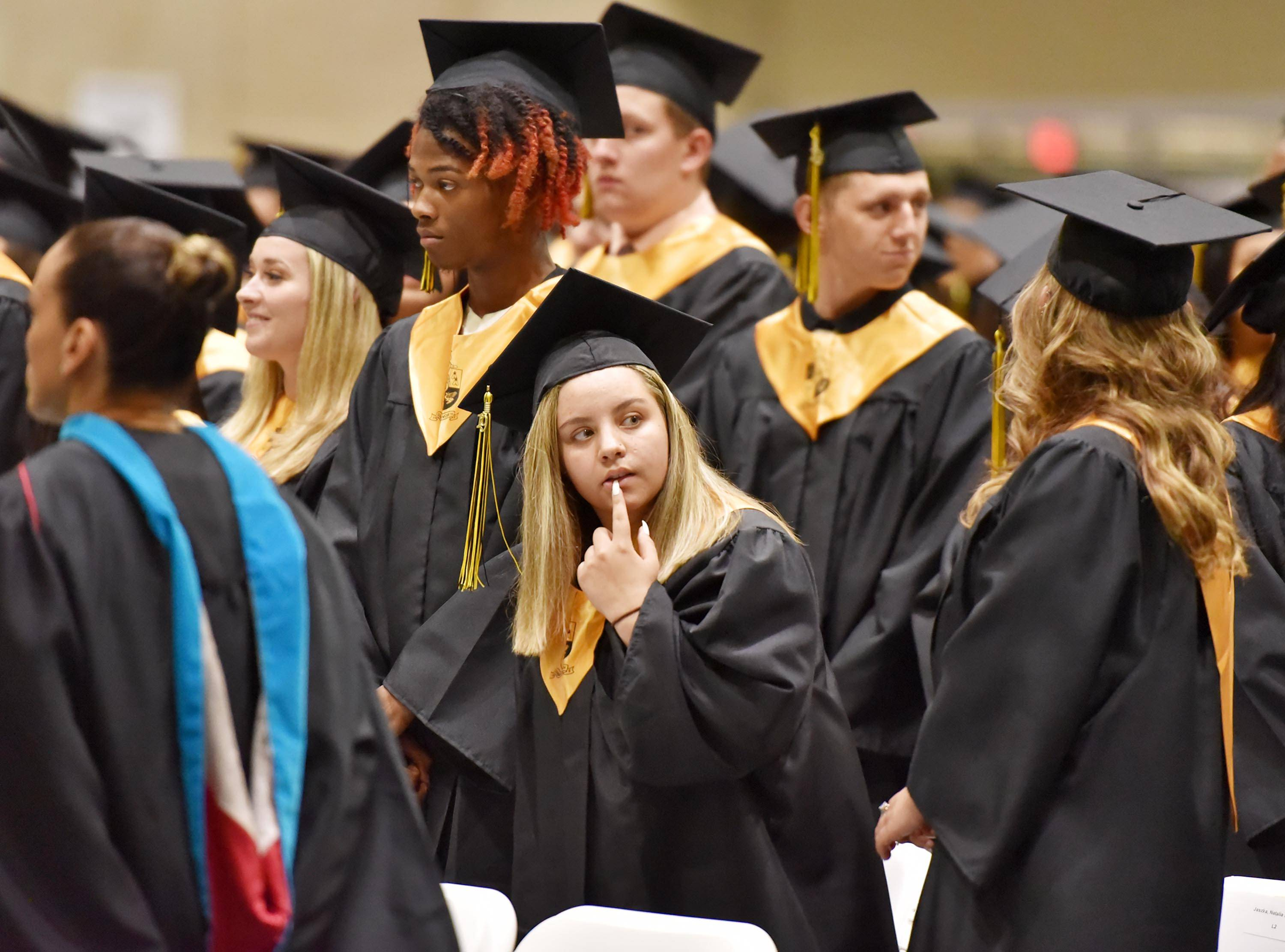 Glenbard North High School held its graduation ceremony on Thursday, May 23 at the College of DuPage in Glen Ellyn.