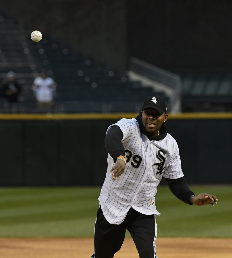 Chicago Bears safety Eddie Jackson got some baseball experience in April when he threw out a ceremonial first pitch before a White Sox game. On June 15, he'll host a charity softball game at Boomers Stadium in Schaumburg.