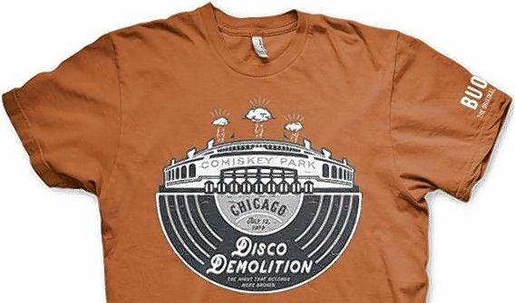 "Commemorating the upcoming 40th anniversary of the infamous incident -- and coinciding with ""Free T-Shirt Thursday"" -- a Disco Demolition-themed T-shirt will be distributed to the first 10,000 fans who enter the ballpark."