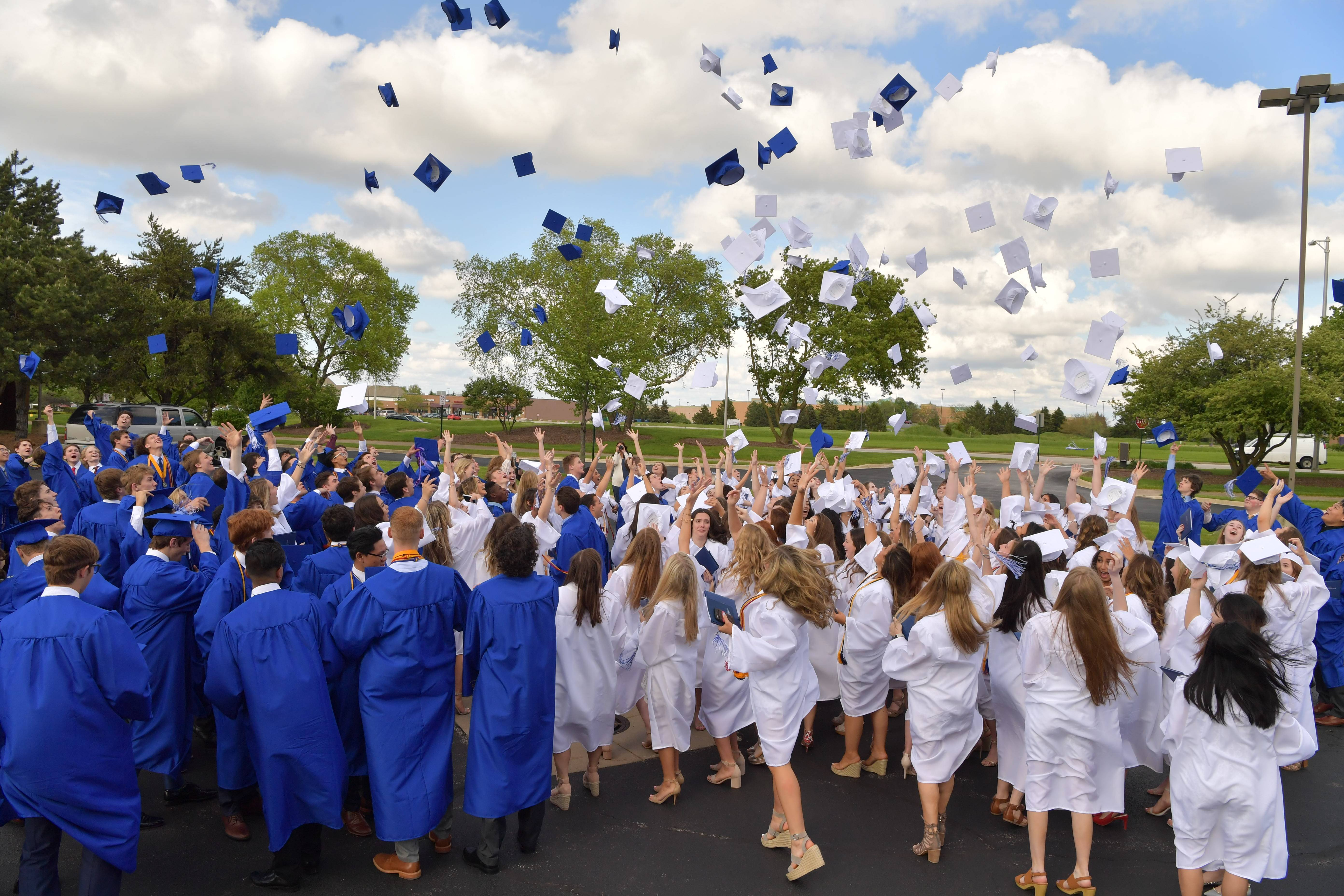 St. Francis celebrates their graduation on Sunday, May 19 in St. Charles.