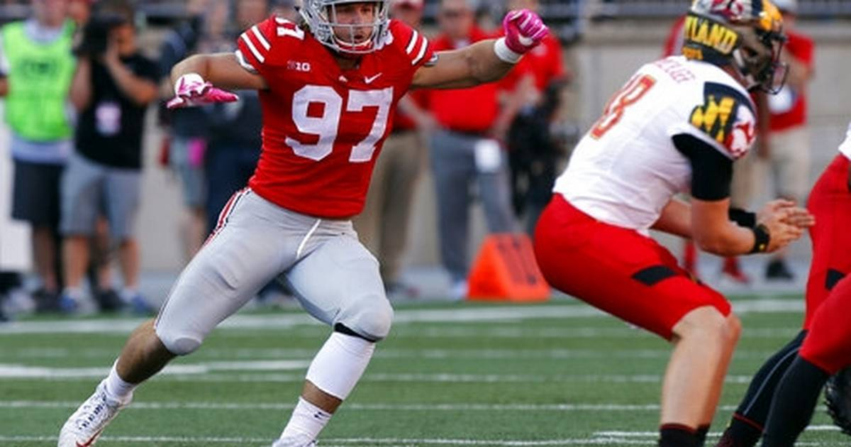 87cfc59f456 Family tradition: Chargers' Bosa switches to familiar No. 97