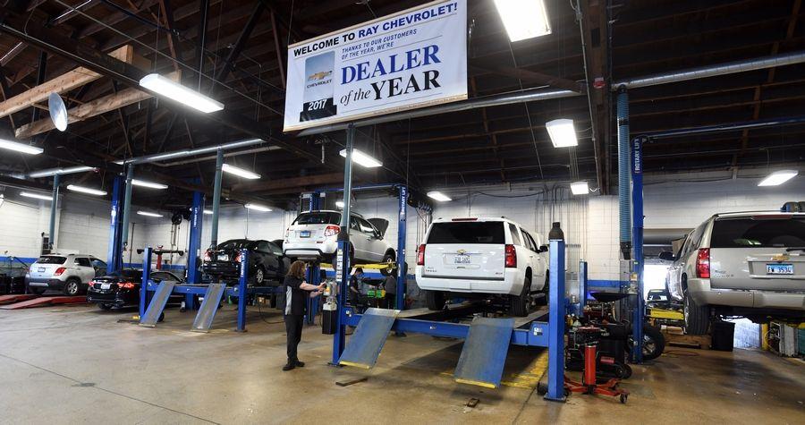 Ray Chevrolet Again Grabs Top Dealer Award