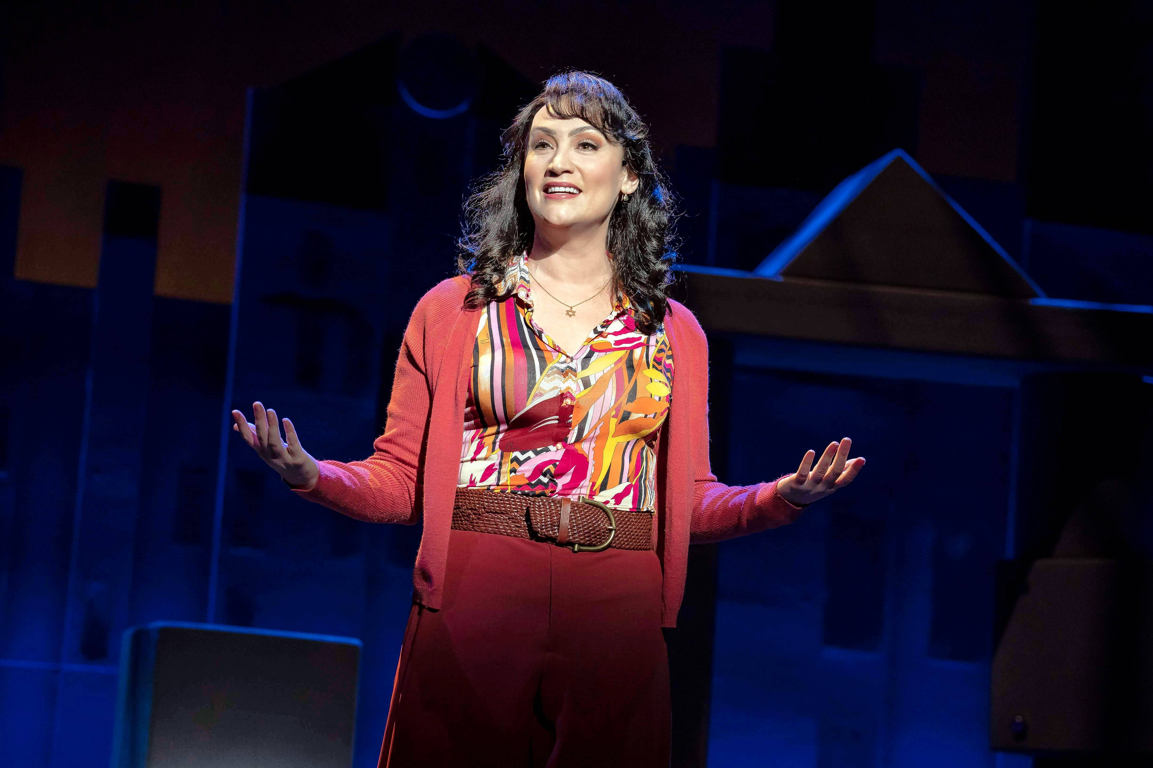 "Broadway veteran Eden Espinosa stars as Trina in the tour of the 1992 musical ""Falsettos,"" which plays Chicago's James M. Nederlander Theatre starting Tuesday, May 28."