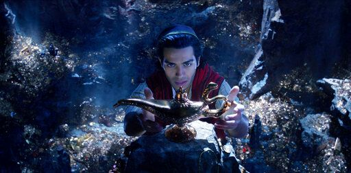 "Mena Massoud is Aladdin in Disney's live-action adaptation of the 1992 animated classic ""Aladdin."""
