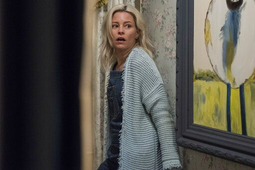 "This image released by Sony Pictures shows Elizabeth Banks in a scene from Screen Gems' ""Brightburn."" (Boris Martin/Sony Pictures via AP)"