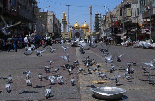US sanctions on Iran felt in Iraqi Shiite tourist districts