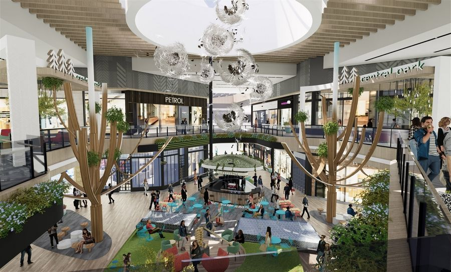 The owners of Hawthorn Mall in Vernon Hills are preparing to start work on a $6.2 million renovation of the center court. The remade space will include a coffee shop/wine bar, water feature, two treelike sculptures and lounges on the upper level.