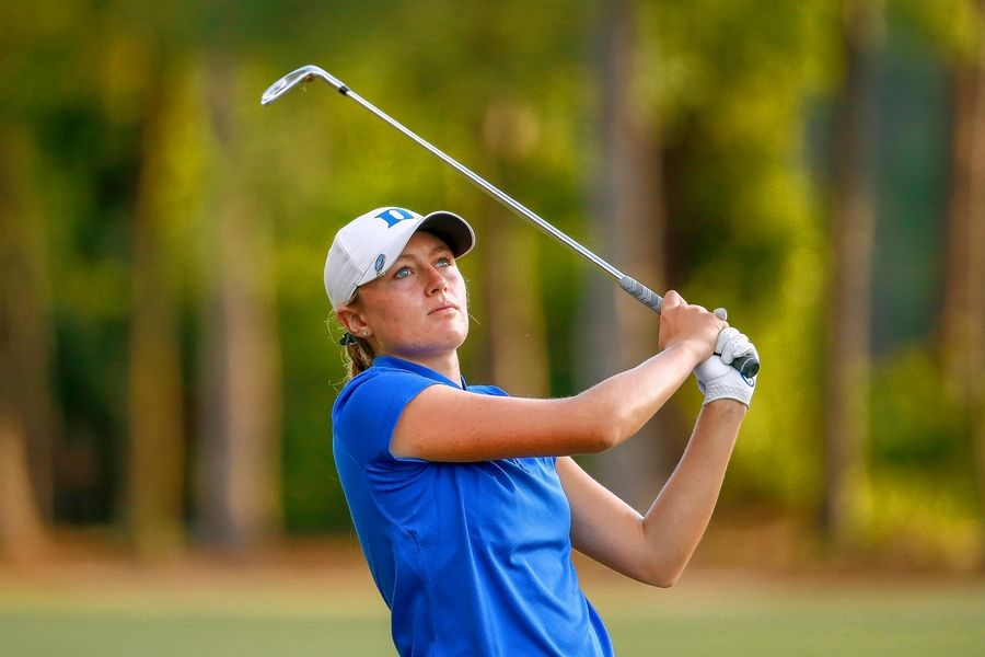 Megan Furtney, here at this month's U.S. Women's Amateur Four-Ball at Timuquana Country Club in Jacksonville, Fla., tees it up Thursday at the U.S. Women's Open in South Carolina.