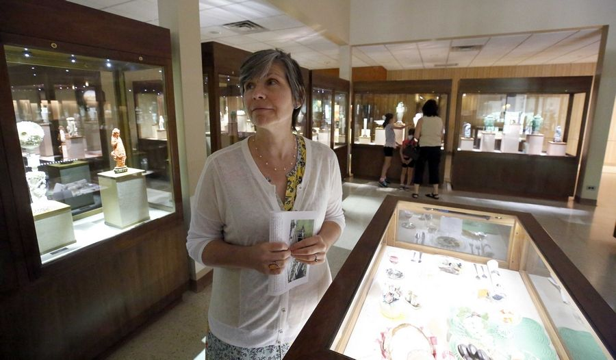 Dorothy Asher, the director of the Lizzadro Museum of Lapidary Art, talks about the Elmhurst location closing after 57 years. The museum will prepare to move to a larger space in Oak Brook and reopen in the fall.