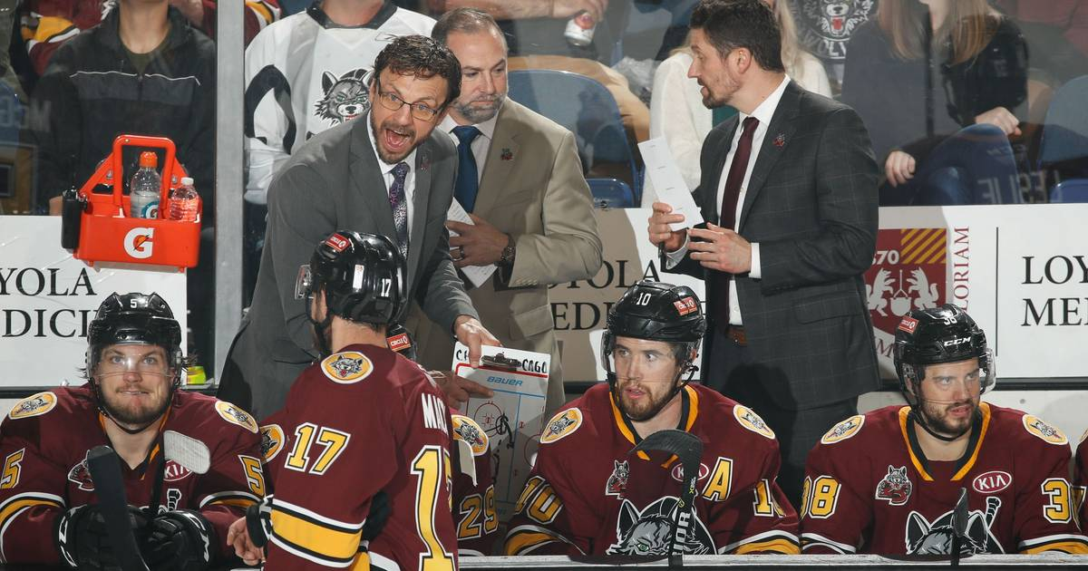 How Wolves coach Rocky Thompson became one of AHL's most