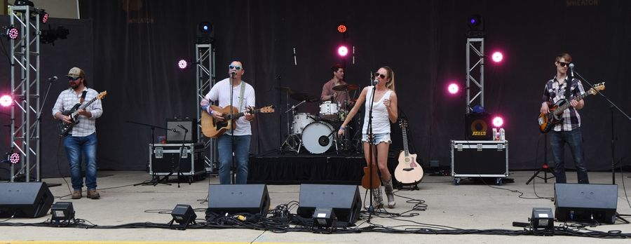 Country band Summer Son performs during the Taste of Wheaton on Saturday.