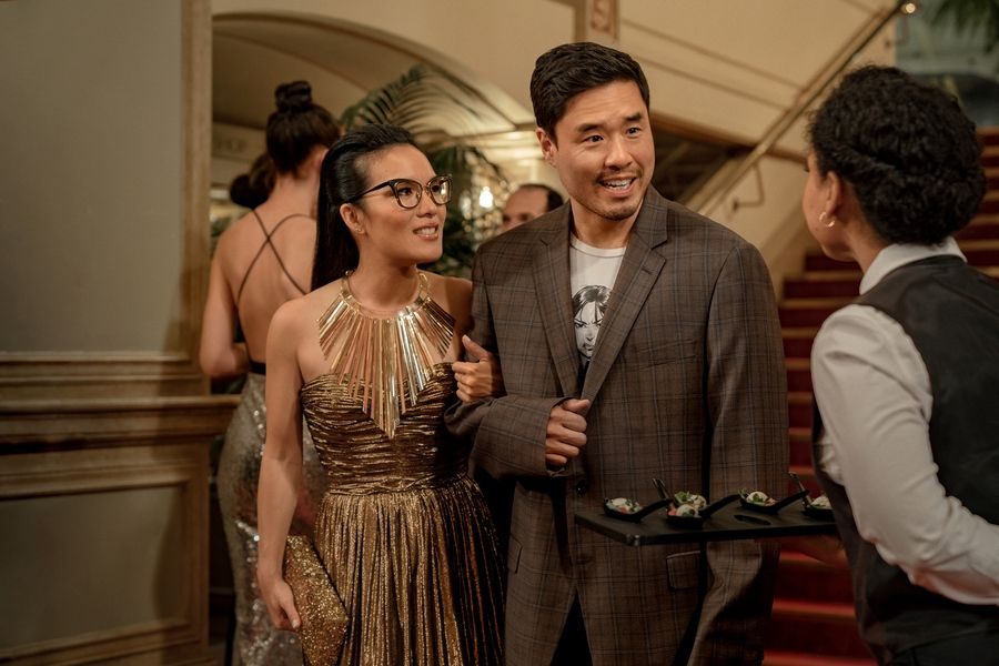 In Ali Wong's new Netflix rom-com, food is the basis of jokes -- and