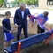 Dist. 15 dedicates buddy bench in honor of retiring superintendent