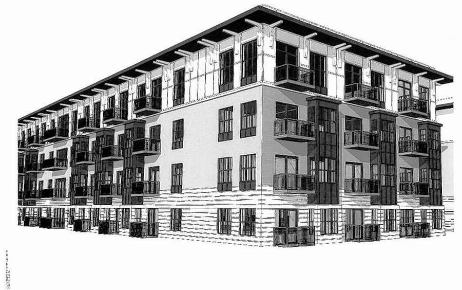 The proposed The Algonquin at Old Plum Grove apartments would be the latest in a flurry of new multifamily developments on the north side of Schaumburg in recent years.