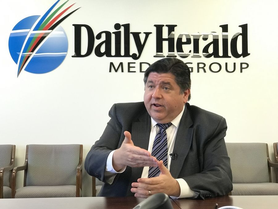 Gov. J.B. Pritzker told the Daily Herald editorial board Thursday in Arlington Heights he'll work to counter opposition to the proposed graduated income tax, which will be on the November 2020 ballot.