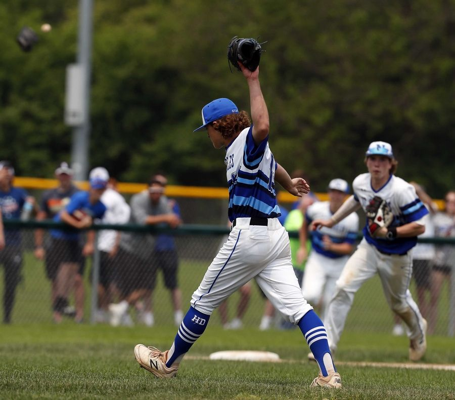 Johnny Lambert and the St. Charles North baseball team is finishing off what's been a memorable year for the school with a pair of state championships in girls golf and boys swimming.
