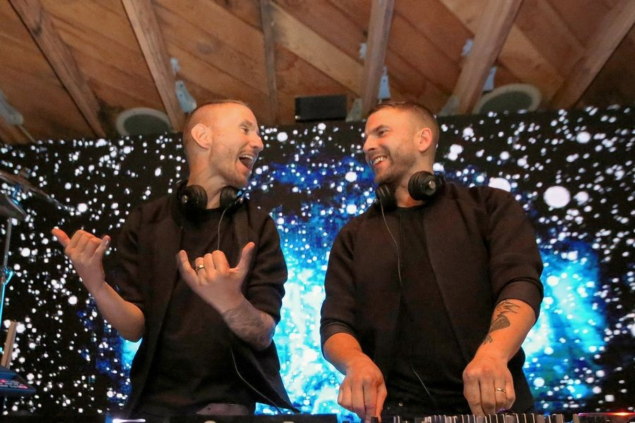 Duo Galantis performs Friday, June 7, at Chicago's PRYSM Nightclub, the site of one of Spring Awakening's official after-parties.
