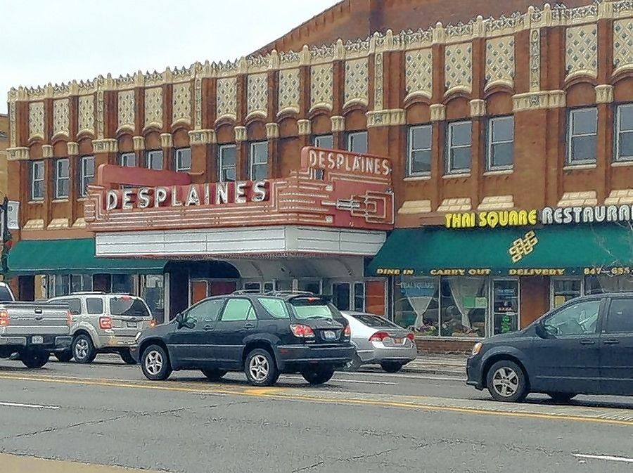 The Des Plaines Theater is one of three stately downtown theater buildings that have been the focus of recent community efforts to give them new leases on life.