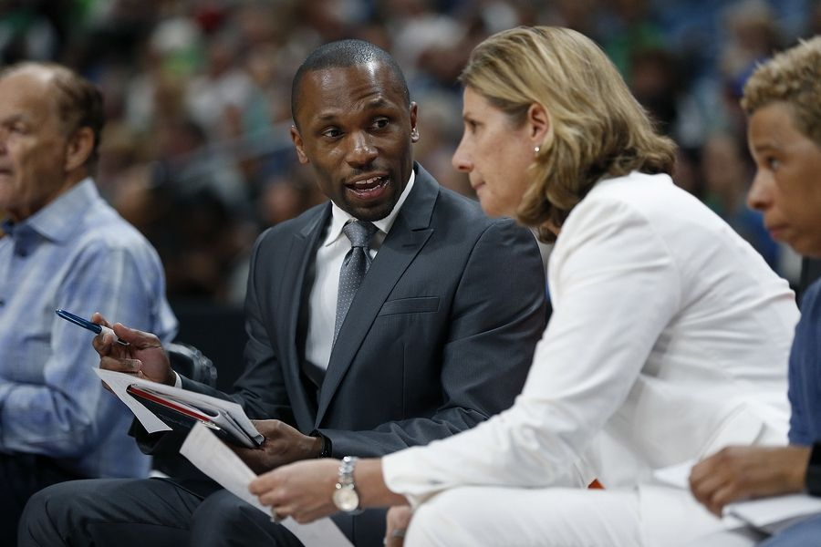 New Chicago Sky coach and general manager James Wade doesn't need to look far for advice about running a WNBA team. His wife, Edwige Lawson-Wade, is a former WNBA player and is now a general manager of a pro women's basketball team in France. Also, get pumped for Chicago Bandits season and the Women's World Cup. Both are now underway