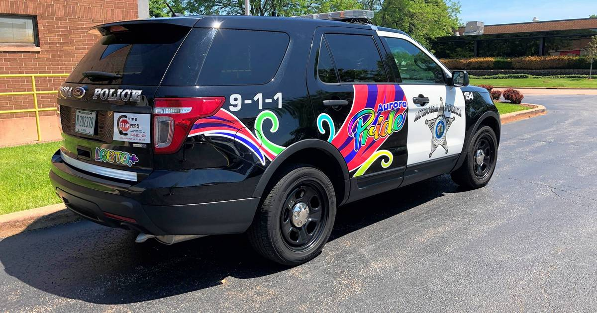 Elgin police provide extra pride on Naperville couple's