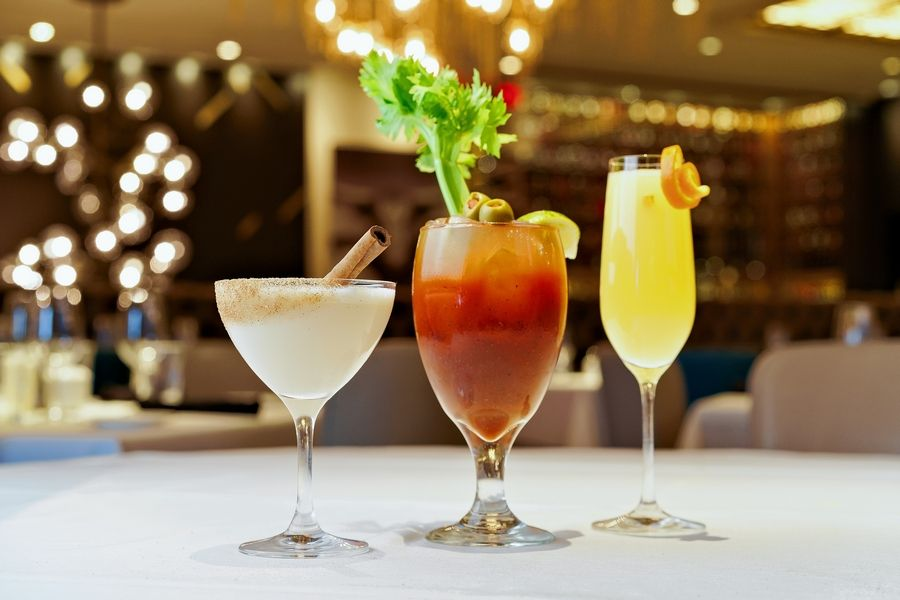 Perry's Brandy Milk Punch, Bloody Mary and Mimosa cocktails are $6.95 from 11 a.m. to 4 p.m. Sunday.