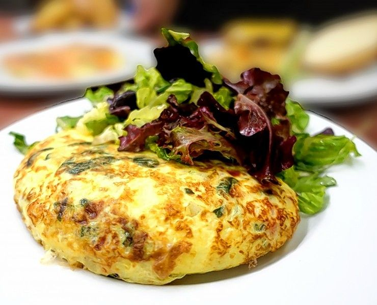 Customize your omelet during Prairie Grass Cafe's Father's Day brunch Sunday.