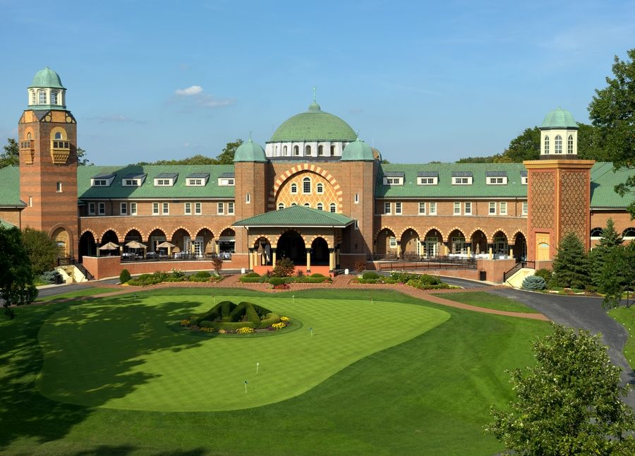 Medinah's clubhouse opened in 1926.