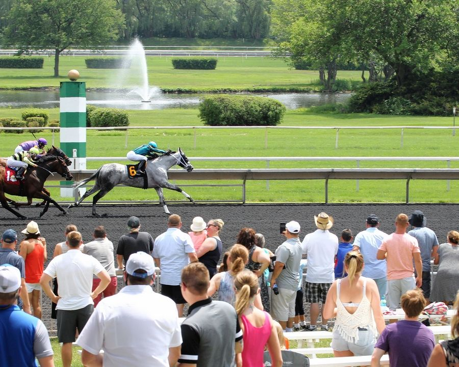 Arlington International Racecourse features special promotions for Father's Day Sunday.