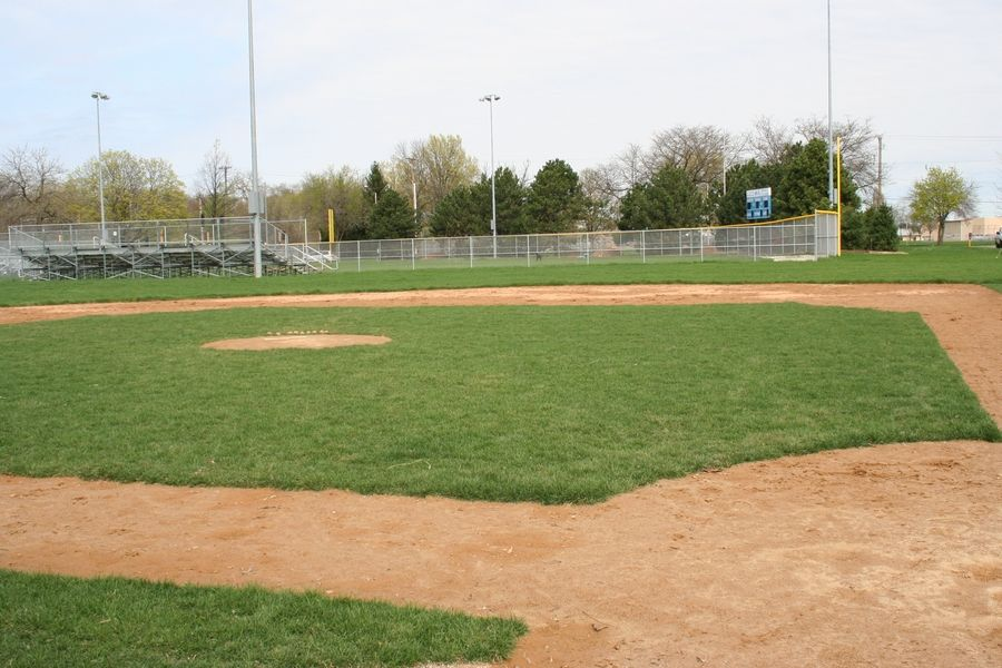 This is one of the ball fields at Knoch Park in Naperville, where a new varsity softball field will be built for Naperville Central's team and a synthetic turf field for lacrosse, soccer and football will be built.