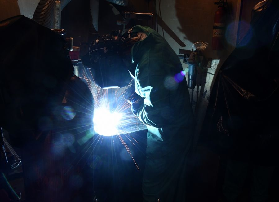 A new six-week welding technology program for nonviolent offenders at the DuPage County jail aims to help inmates such as Kenneth Loyd of Aurora develop job skills that can help them find better-paying jobs once they're out of jail.