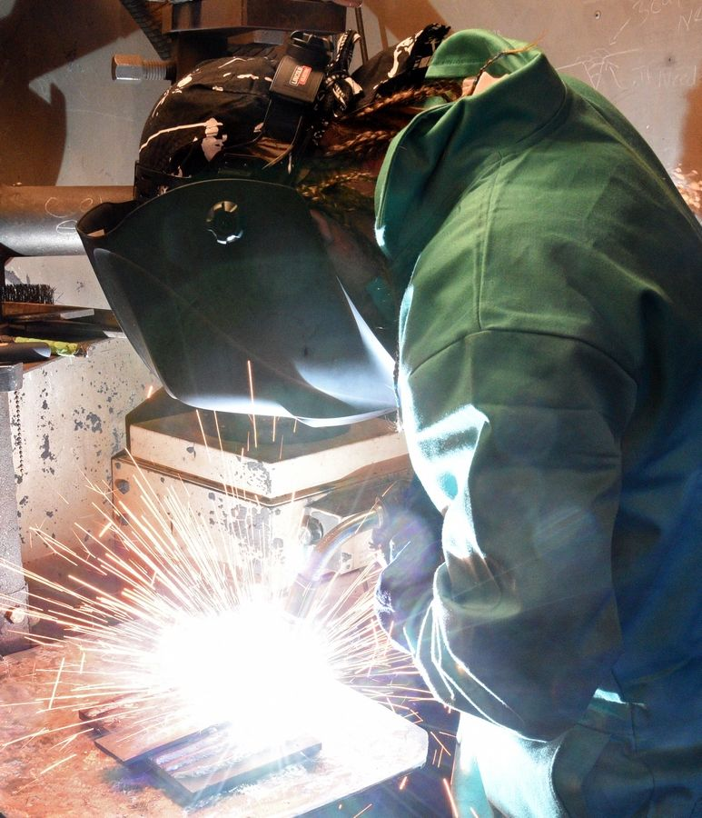 "The jail's welding program offers inmates a second chance to build a better life, Sheriff Jim Mendrick says. ""These guys are getting a chance to repurpose their lives and get a good-paying job."""